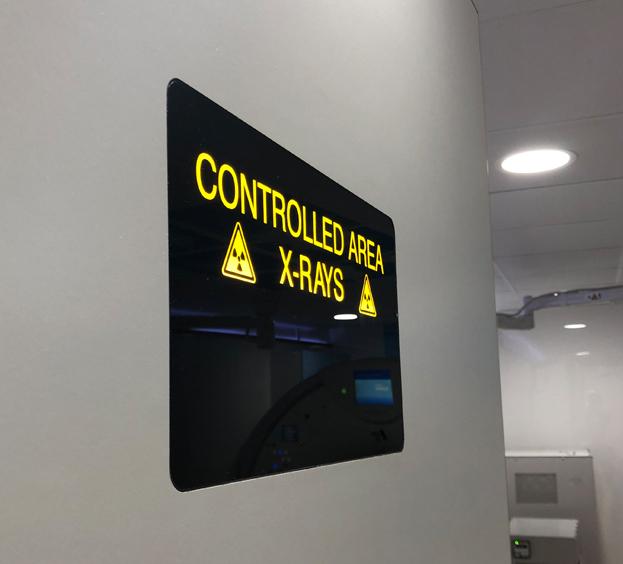 Flush Mounted Door Warning Lights