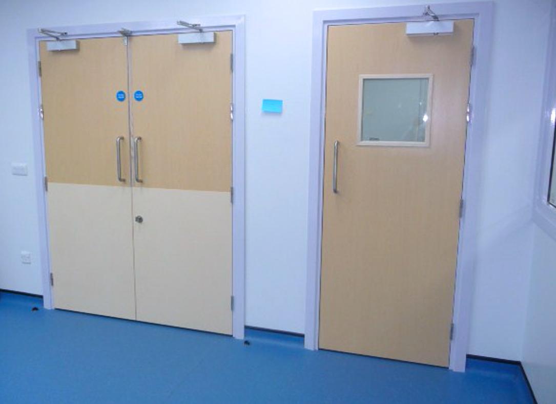 X-ray Door Set and Single X-ray protection door, Raybloc, Radiation Shielding, Lead Lined door
