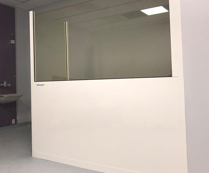 Modular Fixed X-Ray Screens - Raybloc X-Ray Protection