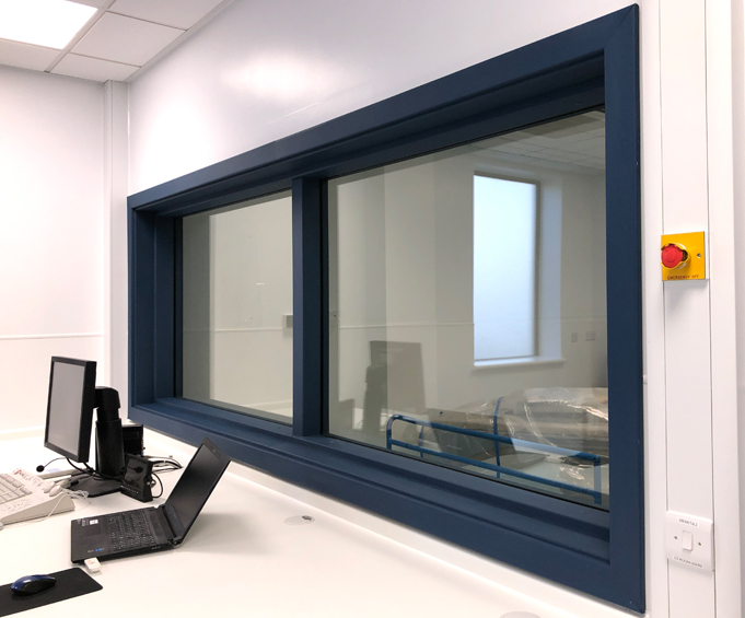 X-Ray Protective Viewing Window - Raybloc X-Ray Protection
