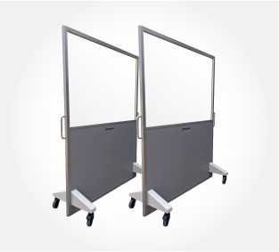 Mobile X-Ray Screens - raybloc xray protection