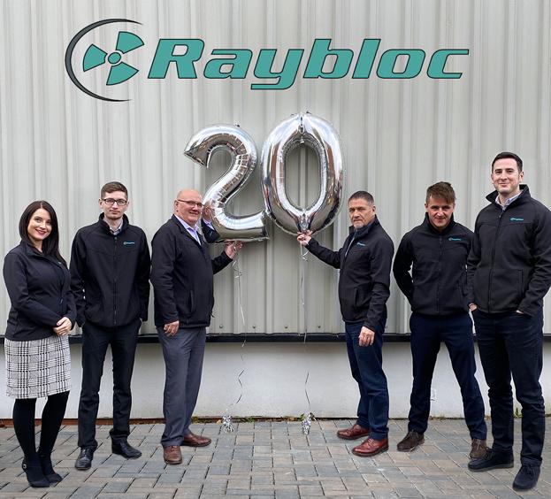 Raybloc X-Ray Protection - 20th Birthday