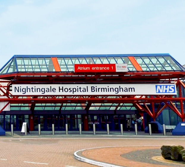 X-ray Protection Equipment in Nightingale Hospital Birmingham - Raybloc X-ray Protection