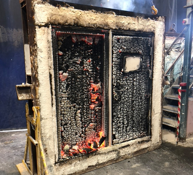 How fire safe are your X-ray doors? - Raybloc X-Ray Protection